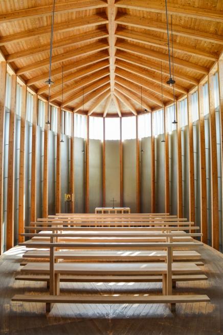 Saint Benedict Chapel Interior